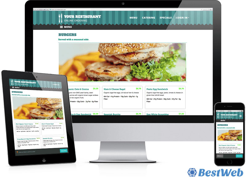 Design Inspiration: Cafe & Restaurant Websites